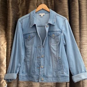 Style & Co Jean Jacket